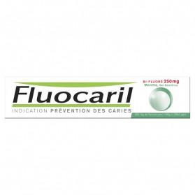 FLUOCARIL Bi-Fluoré 250 mg Menthe Gel Dentifrice 125 ml