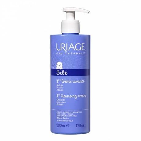 Uriage Bébé Crème Lavante Surgras Moussant sans savon 500ml