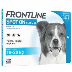 Frontline Spot On Chien M Boite de 4