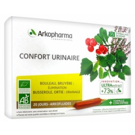 ARKOPHARMA ARKOFLUIDES CONFORT URINAIRE 20 AMPOULES