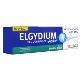 ELGYDIUM GEL DENTIFRICE JUNIOR PROTECTION CARIES 7/12 ANS MENTHE DOUCE 50 ML