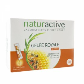 NATURACTIVE GELEE ROYALE 20 STICKS GAMME FLUIDE