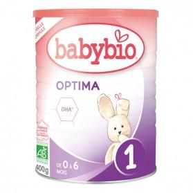BABYBIO Optima 1 de 0 à 6 mois 400g