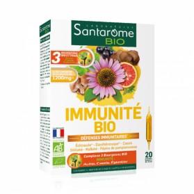SANTAROME BIO IMMUNITE 20 AMPOULES