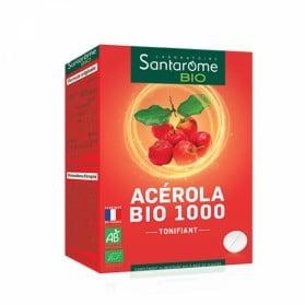 SANTAROME ACEROLA 1000 20 COMPRIMES BIO