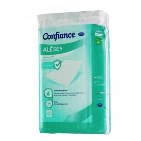 HARTMANN CONFIANCE ALÈSES PROTECTIONS ABSORBANTES NIVEAU 1 40X60CM JETABLES X30