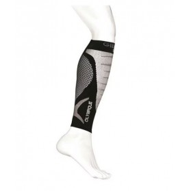 GIBAUD Molletières de compression sportive une paire gris T1