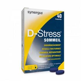 D-STRESS SOMMEIL 40 COMPRIMES