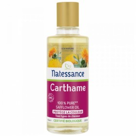 NATESSANCE HUILE DE CARTHAME BIO HUILE PURE 50ML