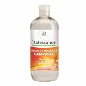 NATESSANCE HUILE DE MASSAGE CAMPHREE 500 ML