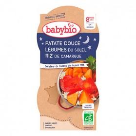 BABYBIO 2 Bols Patates Douces Dès 8 mois 2 x 200g