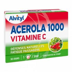 Govital Acérola 1000 Vitamine C 30 Comprimés à Croquer