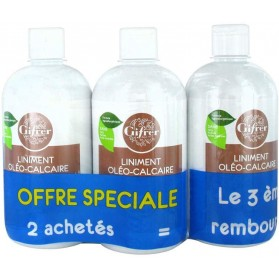 GIFRER LINIMENT OLEO-CALCAIRE LOT DE 3X500ML