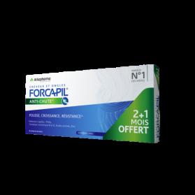 FORCAPIL ANTI-CHUTE 2MOIS + 1 MOIS OFFERT