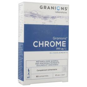 GRANIONS CHROME 250 ΜG 60 COMPRIMÉS
