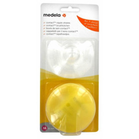 MEDELA 2 BOUTS DE SEIN CONTACT - TAILLE : M - 20 MM