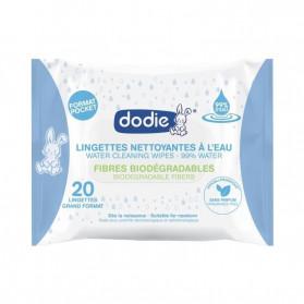 Dodie Lingettes Nettoyantes à L'Eau x 20