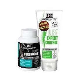 EAFIT Pure Forskoline boite de 60 gélules + gel lipo expert control offert