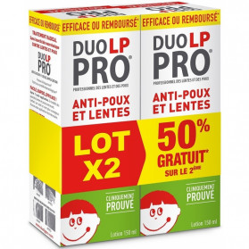 Duo LP PRO Lotion Anti-poux et Lentes 2 x 150 ml