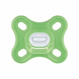 MAM Sucette Comfort en silicone 0m+ Vert