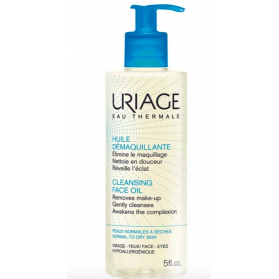 URIAGE HUILE DEMAQUILLANTE PEAUX NORMALES A SECHES 100ML