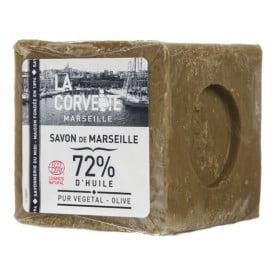 LA CORVETTE Savon de Marseille Olive sous film 300g
