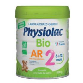 PHYSIOLAC Lait Bio AR 2ème âge - 800g