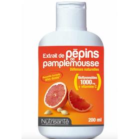 Nutrisanté Extrait de Pépins de Pamplemousse 200ml