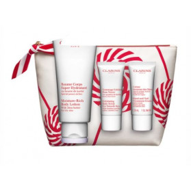 CLARINS COFFRET NOEL BAUME CORPS SUPER HYDRATANT