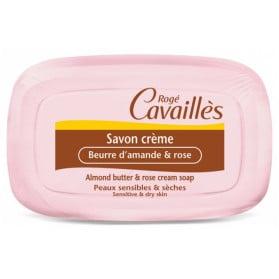 ROGÉ CAVAILLÈS SAVON CRÈME BEURRE D'AMANDE ET ROSE 115 G