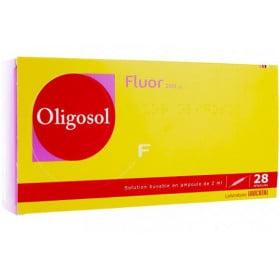 OLIGOSOL FLUOR 28 ampoules