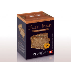 PROTIFAST PAIN BRUN A DEGUSTER 10 TRANCHES