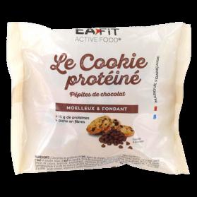 EAFIT - Le Cookie Protéiné Pépites de Chocolat, 50g