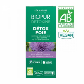 BIOPUR DETOXINE COCKTAIL DETOX FOIE BIO 200ML