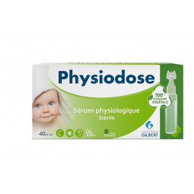 PHYSIODOSE VEGETAL SERUM PHYSIOLOGIQUE STERILE 40 DOSES