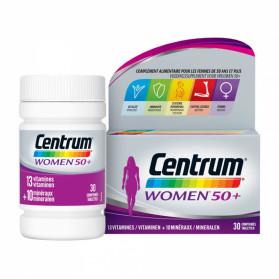 CENTRUM WOMEN 50+ 30 COMPRIMES