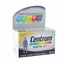 CENTRUM MEN 50+ 30 COMPRIMES