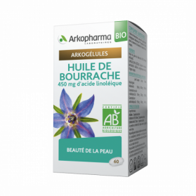 ARKOGÉLULES BIO HUILE DE BOURRACHE 60 CAPSULES