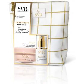SVR Densitium Rose Eclat 50 ml + Densitium Contour des Yeux 15 ml et Trousse Beauté Offerts