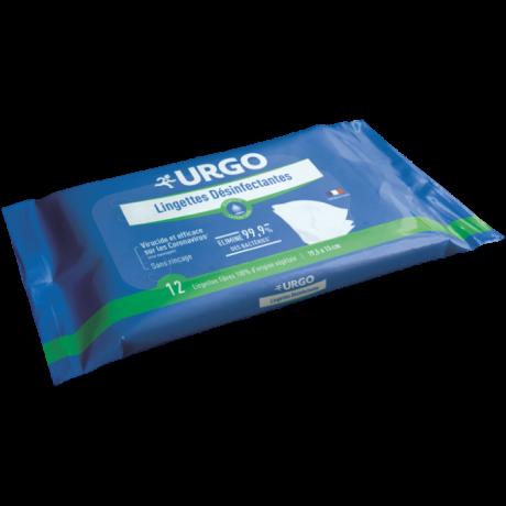 URGO Paquet Lingettes Désinfectantes 12 lingettes