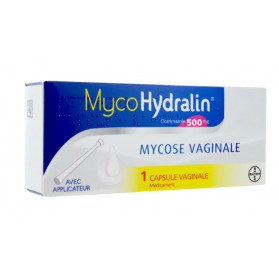 MycoHydralin 500mg 1 capsule vaginale