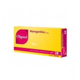 OLIGOSOL MANGANESE 28 AMPOULES