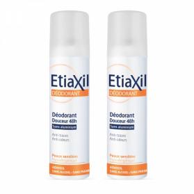 Etiaxil Déodorant Douceur 48H sans Aluminium Lot de 2 x 150 ml