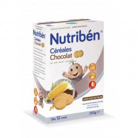 NUTRIBEN CEREALES CHOCOLAT BISCUITES 250G