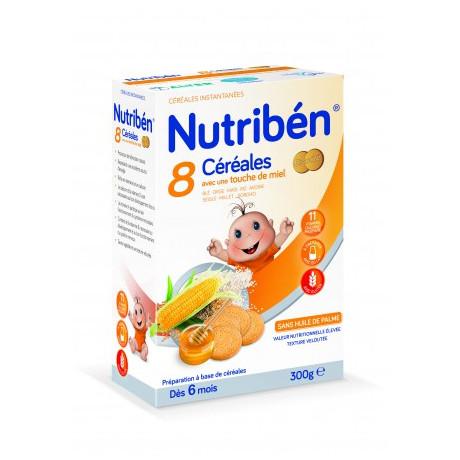 NUTRIBEN 8 CEREREALES MIEL BISCUITES 300G