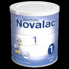 Novalac 1 Lait pour Nourrissons de 0 à 6 mois