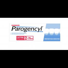 PAROGENCYL PREVENTION GENCIVES DENTIFRICE 2X75 ML