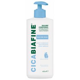 Cicabiafine Baume hydratant corporel quotidien, flacon pompe 400ml
