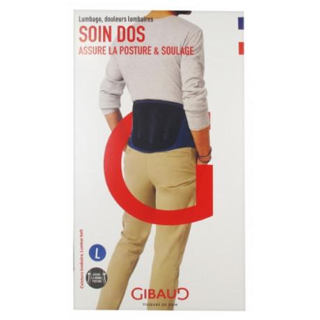 Gibaud Soin Dos Ceinture Lombaire Hauteur 21 cm - Taille : Taille L