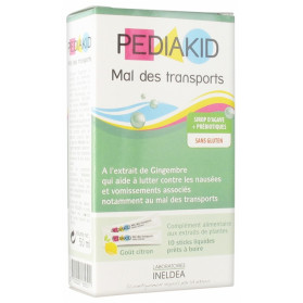 PEDIAKID SIROP MAL DES TRANSPORTS 10 STICKS